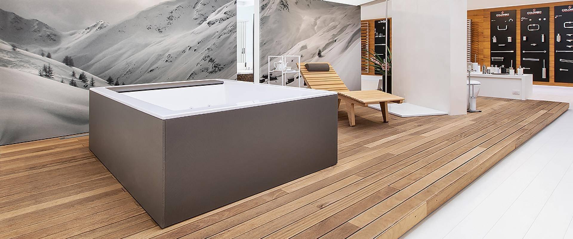 Minipiscina: perchè non può mancare nel vostro giardino: Minipiscina nello Showroom Relax & Living