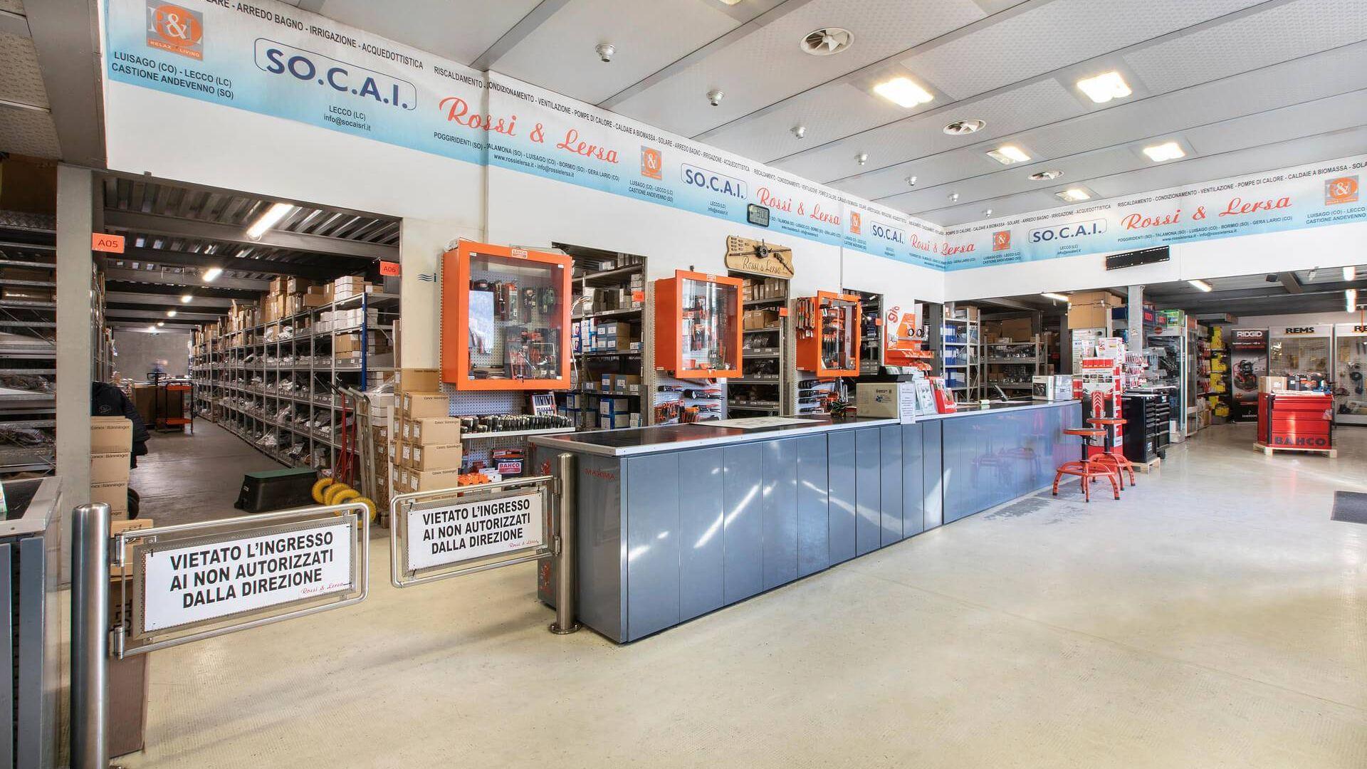Grossisti termoidraulici: Rossi e Lersa