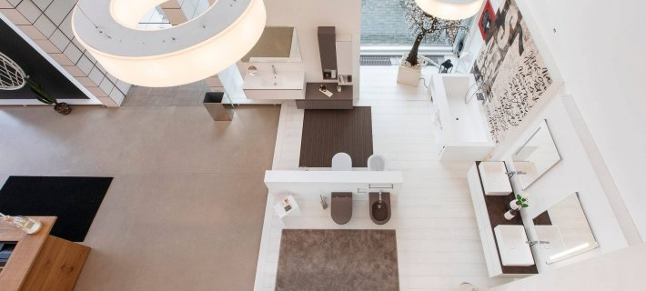 Showroom Relax & Living - Castione Andevenno: panoramica dall'alto