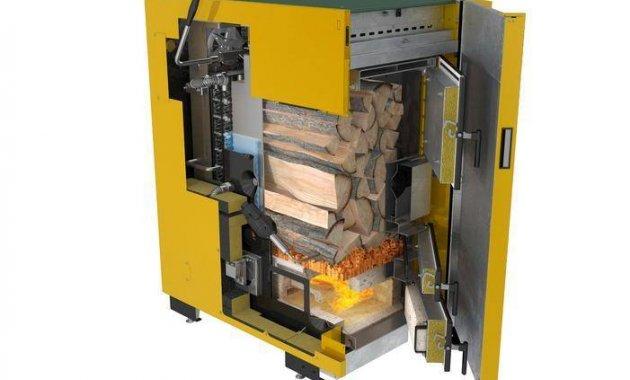 Caldaia a biomassa installata da Rossi e Lersa