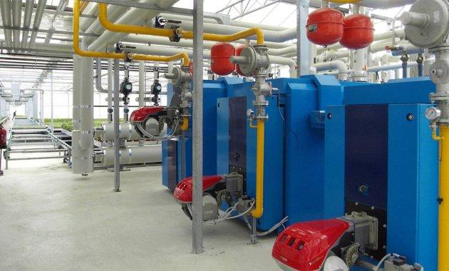 Centrale termica per riscaldamento abitazioni e ambienti industriali